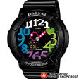 【お取寄せ】 カシオ ベビーG Neon Dial Series ネオンダイアルシリーズ Baby-G CASIO レディース 腕時計 BGA-131-1B2JF ブラック