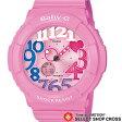 【お取寄せ】 カシオ ベビーG Neon Dial Series ネオンダイアルシリーズ Baby-G CASIO レディース 腕時計 BGA-131-4B3JF ピンク