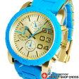 DIESEL ディーゼル レディース 腕時計 クロノグラフ DZ5360 ゴールド/ブルー 【楽ギフ_包装】 P27Mar15