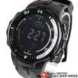 CASIO カシオ PRO TREK プロトレック メンズ 腕時計 電波ソーラー デジタル PRW-3000-1AER ブラック 海外モデル