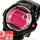 腕時計 Baby-G ベビーG カシオ CASIO レディース Color Display Series カラーディスプレイシリーズ 海外モデル BG-169R-1BDR ブラック