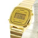 カシオ CASIO レディース 腕時計 デジタル表示 LA670WGA9DF ゴールド 【女性用腕時計 スポーツ リストウォッチ ランキング ブランド かわいい カラフル】【キッズ】 チープカシオ