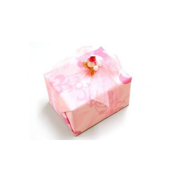 ギフトラッピング★ミニフラワー&ピンク柄 ※当店...の商品画像