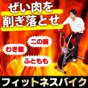 【スマホエントリーでP10倍】【上半身も同時に燃焼】フィットネスバイク / ダイエットバイク 軽量 健康器具 トレーニング 自転車 家庭用