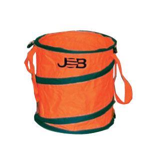 (まとめ)現場用折りたたみ式ゴミ箱 【Mサイズ×2セット】 ジョブマスター JGB-M