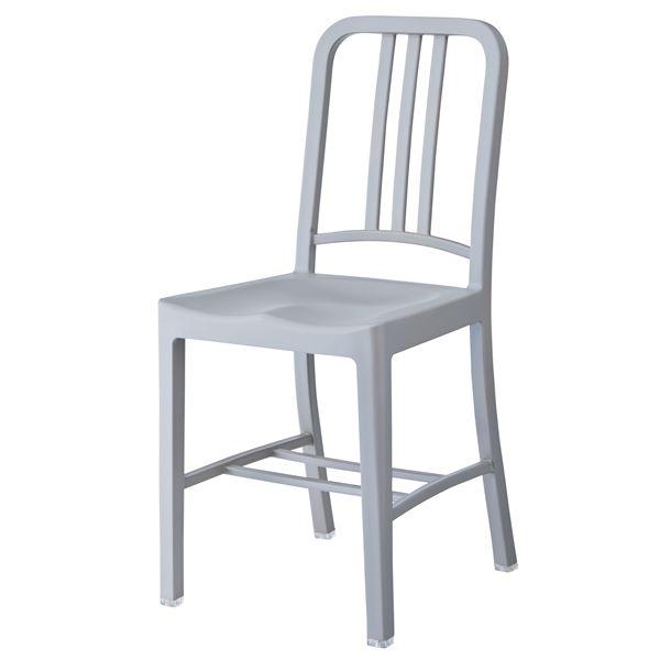 チェア グレー CL-797GY シンプルなチェア/椅子