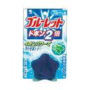 (まとめ) 小林製薬 ブルーレットドボン2倍 ブルーミント【×30セット】