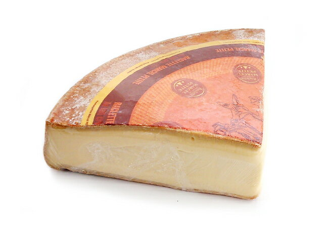 【フランス産・無殺菌乳使用】ラクレット・レ・クリュ 1/4カット約1.7kg(不定貫)100gあたり600円(税別)【セミハードタイプチーズ】