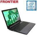 【新品】FRONTIER(フロンティア)15.6型 ノートパソコン Windows10 Core i5-6200U 8GB メモリ 1TB HDD 無線LAN FRNL560/E1【FR】