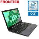 フロンティア ノートパソコン [15.6インチ Windows10 Core i7-6500U 8GB メモリ 275GB SSD 無線LAN] FRNL760 E2【新品】【末】【FR】