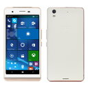 arp XC01Q WH Windows Phone SIMフリースマートフォン ホワイト【新品】S【FR】
