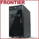 【新品】FRONTIER(フロンティア)デスクトップ Windows10 Core i5-6500 8GBメモリ 250GB SSD→275GBへアップ 1TB HDD GeForce GTX 1060(3GB) FRMXH110/E10【FR】