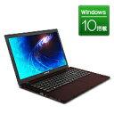 【新品】FRONTIER(フロンティア)15.6型 ノートパソコン Windows10 Core i7-6700HQ 8GB メモリ 1TB HDD 無線LAN FRNZHM170/E4【FR】