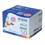 [邮件投递发送、]EPSON纯正墨水IC6CL50(6色组套)[[メール便発送・]EPSON純正インクIC6CL50(6色セット)]