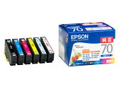 EPSON純正インク IC6CL70 6色セット
