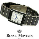 ショッピング200MS 送料無料【ロイヤルモントレス Royal Montres】メンズ腕時計【セラミックベルト】rm200m-sbk(シルバーライン ブラック×ホワイト)[正規品][デザインウォッチ][][ゴージャス][おしゃれ][ブランド]