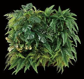 観葉植物 造花 リビング 人工観葉植物 消臭・抗菌 オプションで触媒加工もできる 壁面ロックグリーンA W95cm×H95cm(840×840タイプ) 壁面緑化 送料無料 フェイクグリーン 【RCP】