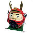 【送料無料】張り子の五月飾り 五月人形・真田幸村の達磨武者人形 だるまゆきむら
