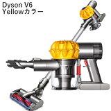 Ķ���㤤����Dyson V6 yellow Cordless Vacuum ��������v6 �����ɥ쥹����ʡ� �����?���顼 �ƹ���ꥫ�顼(DC61 DC62 Ʊ����Dyson �����ɥ쥹�ݽ� �ϥ�ǥ�������ʡ� 0301��ŷ������ʬ���RCP�� 02P18Jun16