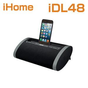 iHomeiDL48DualChargingPortableRechargeableSpeakerwithLightningDockandUSBChargeアイホームiDL48米国正規商品