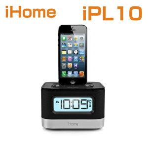 iHomeiPL10DualChargingStereoFMClockRadiowithLightningDockandUSBChargeアイホームiPL10米国正規商品