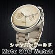 モトローラ Moto 360 Watch スマートウォッチカラー:シャンパンゴールド(Champagne Metal)18ミリ幅 Android Wear moto360【並行輸入品】【smtb-tk】