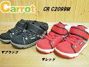 ♪carrot キャロット CR C2099M 2E ブラック・レッド▼(15cm〜19cm)ムーンスターキャロットキッズスニーカーブーツ「キャロット×mamaLOVEママラブ」モデル。