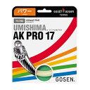 AK プロ 17 ( AK Pro 17 )【 ゴーセン / Gosen 】【 ラケット 購入者用 ガット 】