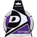 バイオミメティック ヘキシファイバー ( BIOMIMETIC HEXY FIBER )【ダンロップ/Dunlop】【 ラケット 購入者用 ガット 】