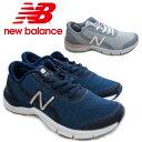 [New Balance]ニューバランス NB WX711 レディーススニーカー 靴 ランニング シューズ ワイズD ネイビー ライトグレー /ST /RU