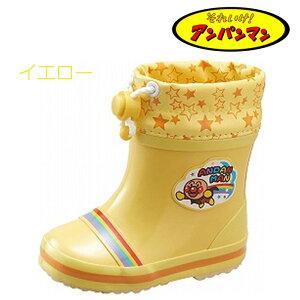 【アンパンマン】BBAPM16Uベビーレインブーツ虹ムーンスター長靴雨靴子供イエローピンク13.014.015.0アニ