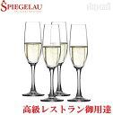 シュピゲラウ シャンパングラス 190ml×4脚 ドイツ製 スパークリングワイン ワインラヴァーズ