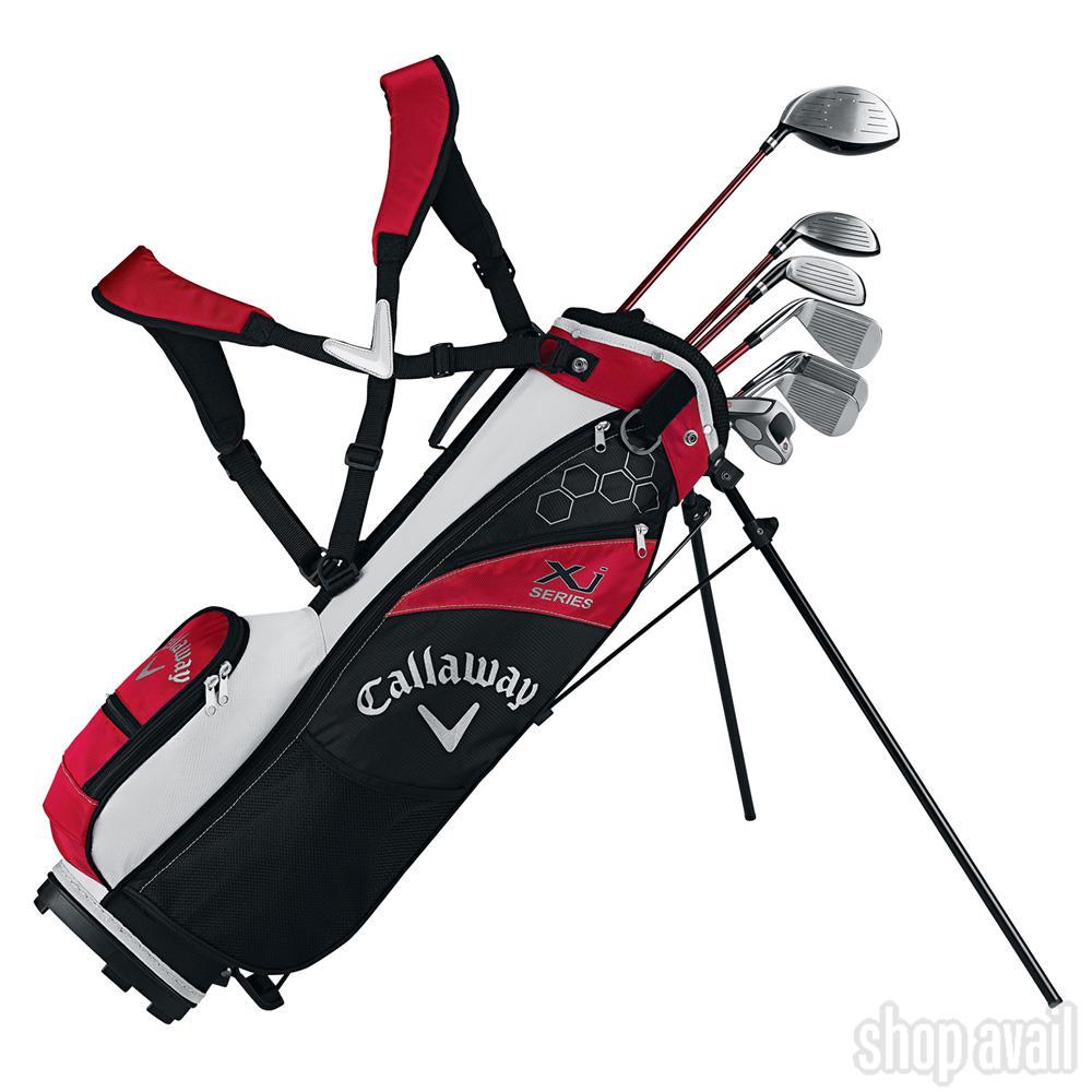 [送料無料]Callaway キャロウェイ XJ ジュニア ゴルフクラブセット 右利き USモデル ゴルフセット 子供用 キッズ キッズゴルフセット クラブセット
