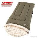 [送料無料]適温4.5℃以上 Coleman コールマン 寝袋 封筒型 顔くり抜き 198cm×84cm シュラフ スリーピングバッグ コンフォートトップ キャ...