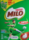Nestle ネスレ ミロ 1kg (500g×2袋) 栄養機能食品 健康ドリンク 穀物飲料 麦芽飲料 Nestle MILO