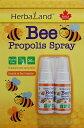 カナダ産 プロポリススプレー2本  HerbaLand Propolis spray プロポリス 蜂蜜