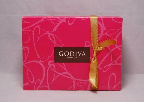 GODIVA ゴディバ アソート 12粒 ピンク箱 アソートメントP チョコレート 詰め合わせ お菓子 ホワイトデー お返し バレンタイン チョコ ギフト クリスマス プレゼント ベルギー
