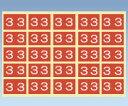 【ナビス】カラ−ナンバ−ラベル CNL−L(3)【02P06Aug16】
