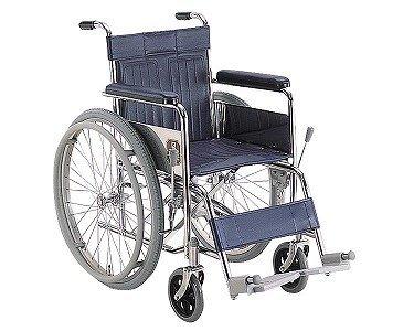 送料無料スチール製自走用車いす(KR801N座幅42)カワムラサイクルW0062※欠品中:納期未定※