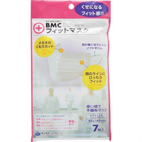 BMC フィットマスク(レディース7枚)【02P06Aug16】