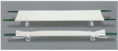 【感謝価格】二つ折り担架 スチール FRT-103 【smtb-s】 【fsp2124-6m】【02P06Aug16】