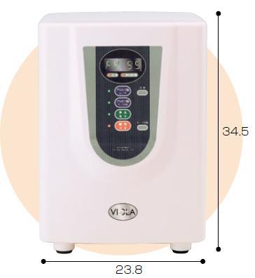 【送料無料】【無料健康相談付】家庭用アルカリイオン水生成器 イオンガーデン3 ヴィオラ (CI-4000)  【smtb-s】 【fsp2124-6m】【02P06Aug16】 強力な活性炭で3種類の水を。おいしい水をご家庭で。