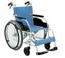 【送料無料】アルミ軽量自走式車椅子 ECO−201B 【非