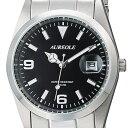 オレオール メンズ腕時計 10気圧防水機構 AUREOLE 日本製 SW-591M-A ギフト プレゼント