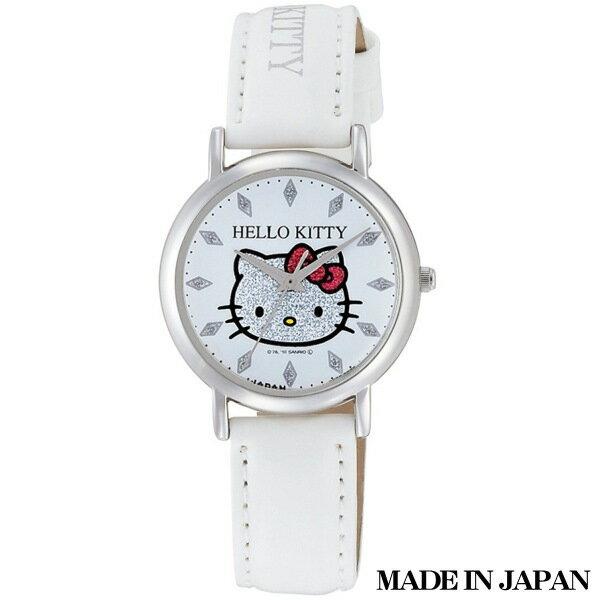 ハローキティ HELLO KITTY 子供用腕時計 日本販売限定モデル キャラクターウォッチ MADE IN JAPAN (日本製) 0009N001