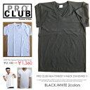 【 メール便対応 】 PRO CLUB プロクラブ Vネック Tシャツ ヘビーウェイト Heavy Weight ヘビーウエイト STANDARD V スタンダード proclub v