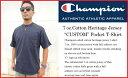 チャンピオン ヘリテイジ ポケット Tシャツ Champion CHAMPION チャンピオン メンズ 無地 半袖 tシャツ アメリカ規格 usa