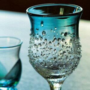 ザラメ雪台付きグラス