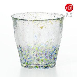 氷華金彩ロックグラス雫
