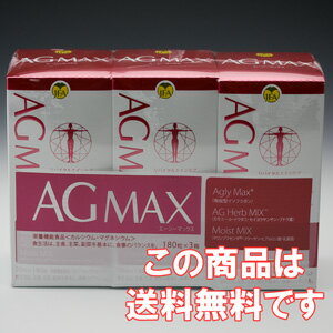 AGMAX エージーマックス value 540 grain (180 tablets x 3 box)